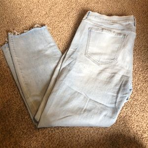 NWOT Old Navy Ankle Length Power Jeans